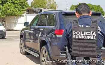 Abandonan vehículo con impactos de bala en Villa Florida - La Voz de la Frontera