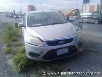 Tres vehículos chocan frente al puente Villa Florida de Torreón - El Siglo de Torreón
