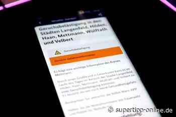 Chemiepark-Explosion: Warn-App löst für Städte im Kreis Mettmann aus [Update] - - Super Tipp