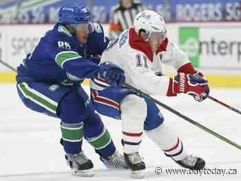 Canucks deal defenceman Nate Schmidt to Winnipeg Jets for third-round pick