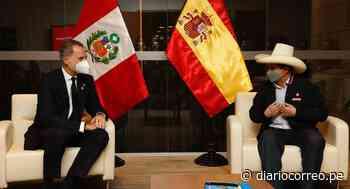 Rey de España Felipe VI se reunió con el presidente electo Pedro Castillo en San Borja - Diario Correo