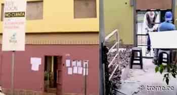 San Borja: Inquilinos morosos deben cinco años de alquiler y se llevan hasta las puertas - Diario Trome