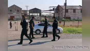 FUERTE VIDEO: Momento exacto en el que masacran a dos hombres a la salida sur de Ciudad Obregón - TRIBUNA