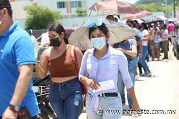 Pese al fuerte calor, jóvenes mazatlecos sí acuden a vacunarse contra el Covid-19 este martes - Noroeste
