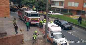 Por escape de gas, reportan fuerte explosión en el barrio Rosales, en Bogotá - infobae