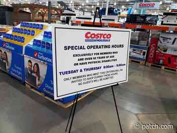 Senior Shopping Hours Continue At Danville Costco - Patch.com