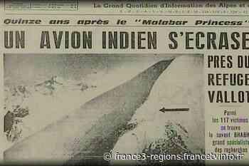 La ville de Chamonix va toucher une partie du trésor des Bossons, probable vestige du crash du Boeing d'Air In - France 3 Régions