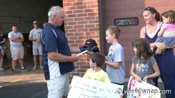 Boy from Danville helps raise money for fire company - WNEP Scranton/Wilkes-Barre