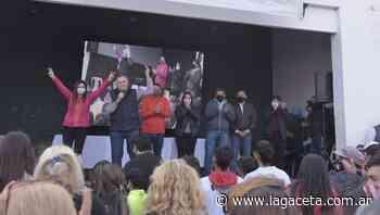 Jaldo, de campaña por San Miguel de Tucumán - Actualidad   La Gaceta - LA GACETA