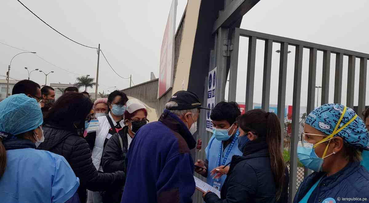 San Miguel: se reanuda vacunación en el Parque de las Leyendas tras haberse agotado las dosis - La República Perú