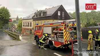 Dachstuhlwohnung in Zeulenroda-Triebes steht in Flammen - Ostthüringer Zeitung