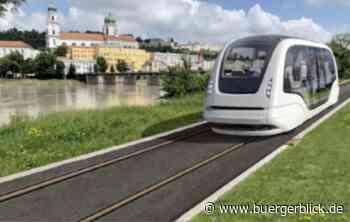 Granitbahn soll Rückgrat für führerlose Passauer Pendelbusse werden - Nachrichten - Bürgerblick Passau