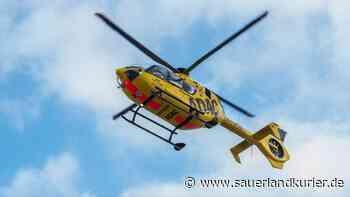 Unfall in Eslohe: Kind bei Sturz schwer verletzt - Hubschrauber im Einsatz - sauerlandkurier.de