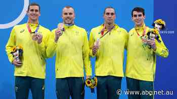 Live: Australia caps off a great day in the pool, securing a bronze medal in men's 4x200m relay