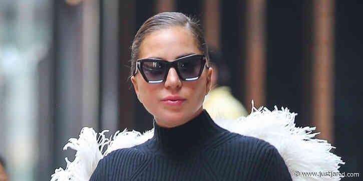 Lady Gaga Wears Actual Angel Wings in NYC!