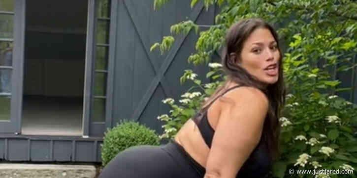 Pregnant Ashley Graham Twerks in Lingerie for a Self-Love TikTok