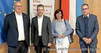 Delegation aus Kreis Merzig-Wadern besucht europäische Schule Differdange/Luxemburg - Saarbrücker Zeitung