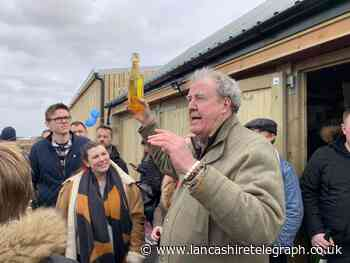 Accrington farming company supplies Jeremy Clarkson with 'tunnels' for Diddly Squat Farm