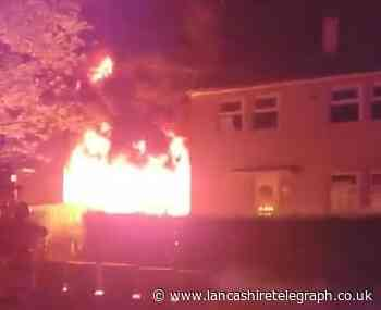 Investigation launched into Shadsworth fence blaze as residents asked not to speculate over cause