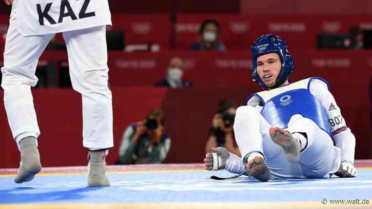 Olympia 2021: Taekwondo-Hoffnung Alexander Bachmann nach Aus enttäuscht - WELT