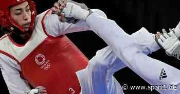 Olympia 2021: : Flüchtling Alizadeh überrascht im Taekwondo - SPORT1