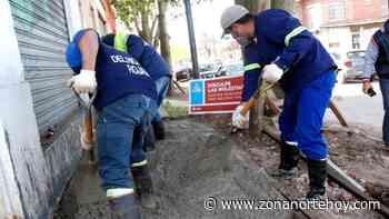 En Ricardo Rojas, el Municipio de Tigre avanza con la construcción de veredas vecinales - zonanortehoy.com