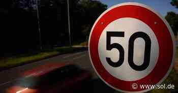 Aus 30 mach 50: Täter überkleben Schild in Wadern - sol.de