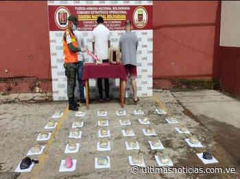 Incautan 50 panelas de drogas y 20 millardos de bolívares en Barinas - Últimas Noticias