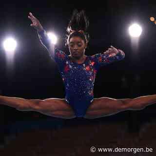 Live - Gymnaste Biles trekt zich terug uit allround finale, Evenepoel voorlopig tweede in tijdrit, Van Aert gestart
