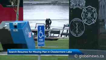 Potential drowning at Chestermere Lake   Watch News Videos Online - Globalnews.ca - Globalnews.ca