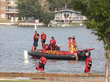 Emergency crews searching for missing man at Chestermere Lake - Calgary Sun