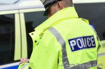Police arrest man after fight at Crawley roundabout