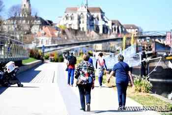 Venus de Suisse, des Pays-Bas, de Bulgarie... La ville d'Auxerre a retrouvé ses touristes - L'Yonne Républicaine