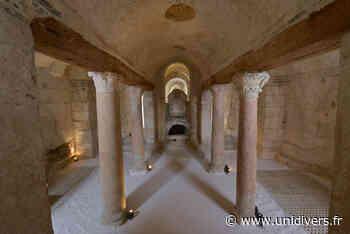 Visite guidée de la crypte de saint Germain Abbaye Saint-Germain samedi 18 septembre 2021 - Unidivers