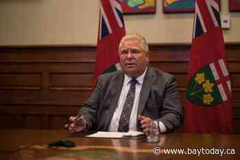 Ontario Premier Ford to meet with wildfire evacuees, community leaders in Thunder Bay