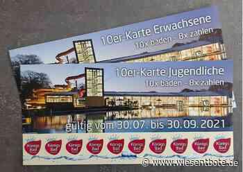 """Forchheim: Sondereintrittskarten für das Königsbad: """"10 x baden – 8 x bezahlen"""" - Der Neue Wiesentbote"""