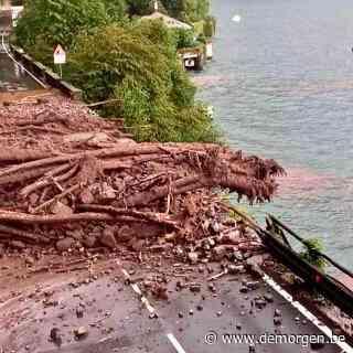 Zwaar noodweer treft regio rond Comomeer: straten veranderen in rivieren met kolkende modderstromen