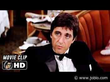"""SCARFACE Clip - """"Bad Guy"""" (1983) Al Pacino - JoBlo.com"""