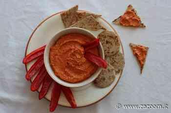 Crema siriana con peperoni | noci e aglio | come prepararla - Zazoom Blog