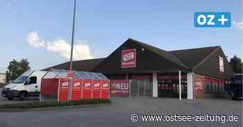 In Hornstorf bei Wismar: Alter Aldi-Markt wird zum Baumarkt - Ostsee Zeitung