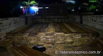 Madeira ilegal avaliada em R$70 mil é apreendida em Manacapuru - radar amazonico