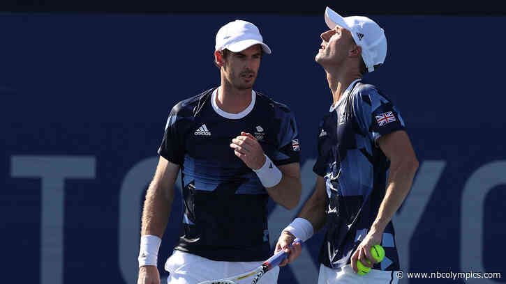 Andy Murray bounced from Tokyo Olympics after doubles loss in quarterfinals - NBC Olympics