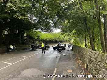 Serious crash closes main road between Bolton and Darwen