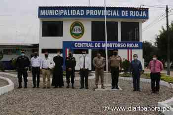 Rioja inaugura central monitoreo 27 cámaras - DIARIO AHORA