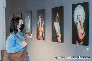 Filip Naudts in pop-up Gents fotoagentschap in Knokke