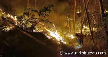 Estabilizado un incendio originado en Lérida y que ha saltado a La Litera - Radio Huesca