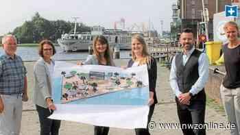 Gewinner der Stadt-Ausschreibung: Sechs Wochen Strand-Gefühl am Delft in Emden - Nordwest-Zeitung
