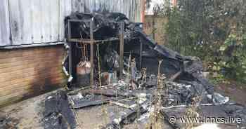 Investigation underway after fire destroys food van in Clitheroe - Lancs Live