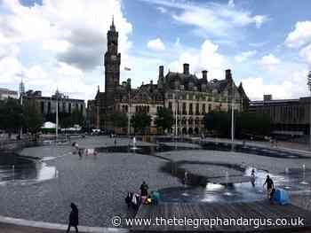 Mirror Pool fountains off for Bradford food and drink fest - Bradford Telegraph and Argus