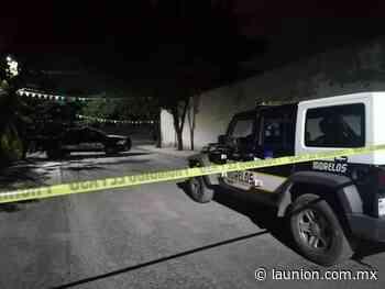 Dejan dos cadáveres maniatados en la colonia Joya del Agua, en Jiutepec - Unión de Morelos